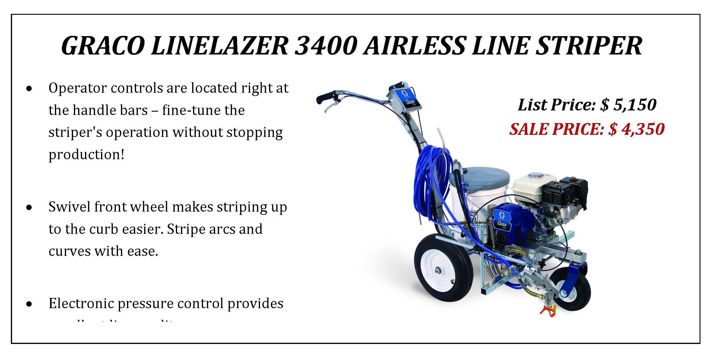 Graco Linelazer 3400 - 2018